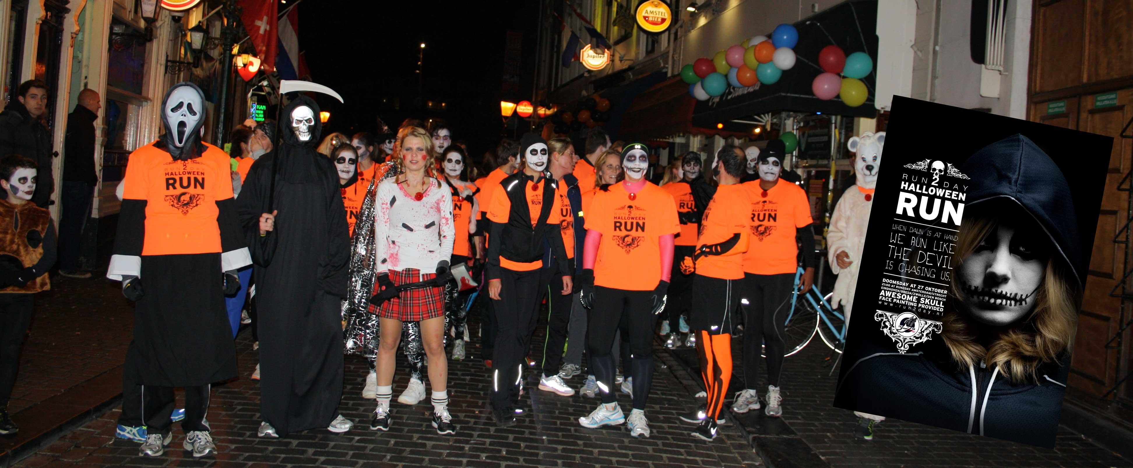 Halloween Party Breda.1e Halloween Run In Breda Groot Succes Run2day Breda